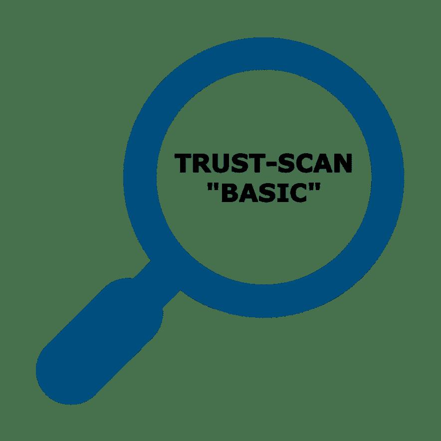 Icon TRUST-SCAN BASIC powernavi ecosystems of trust