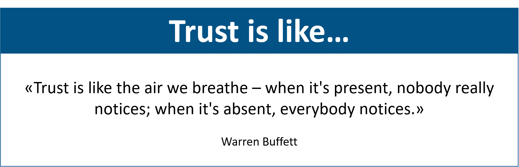 Trust Quote #1 powernavi